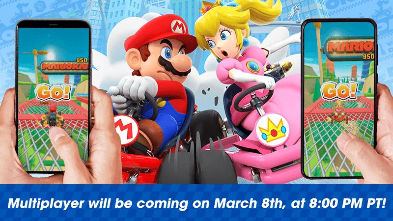 В Mario Kart Tour появился мультиплеер