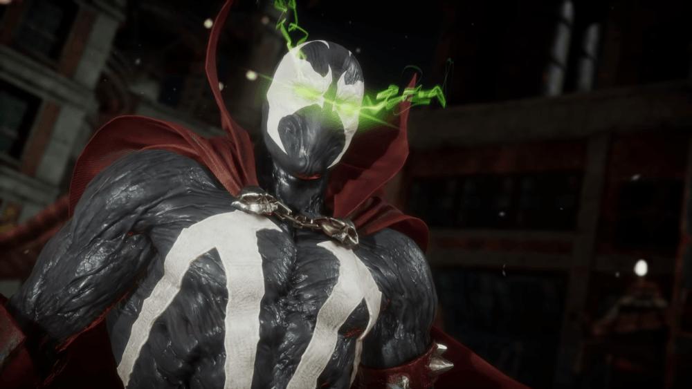 Геймплей Спауна в Mortal Kombat 11