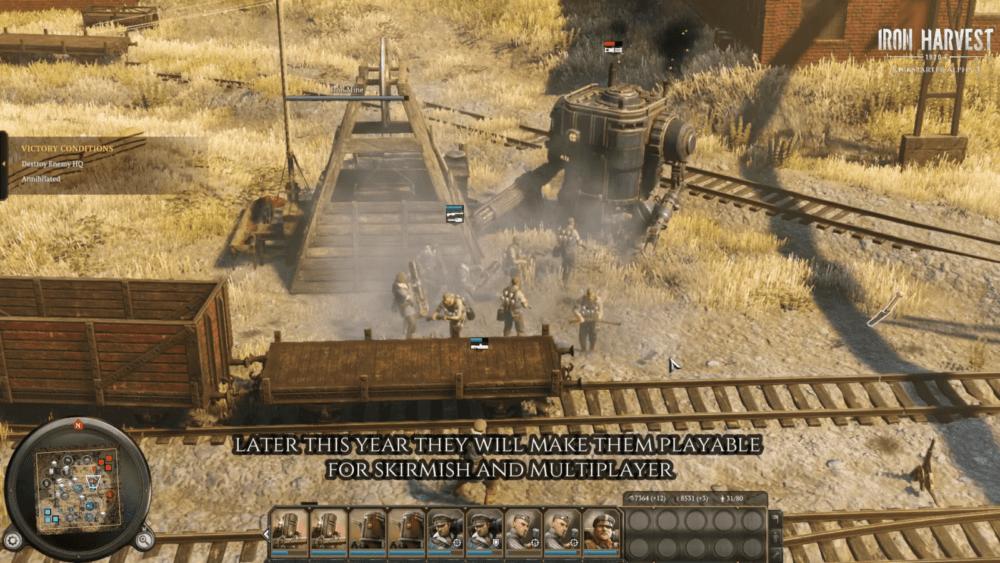 Русские в свежем геймплее Iron Harvest