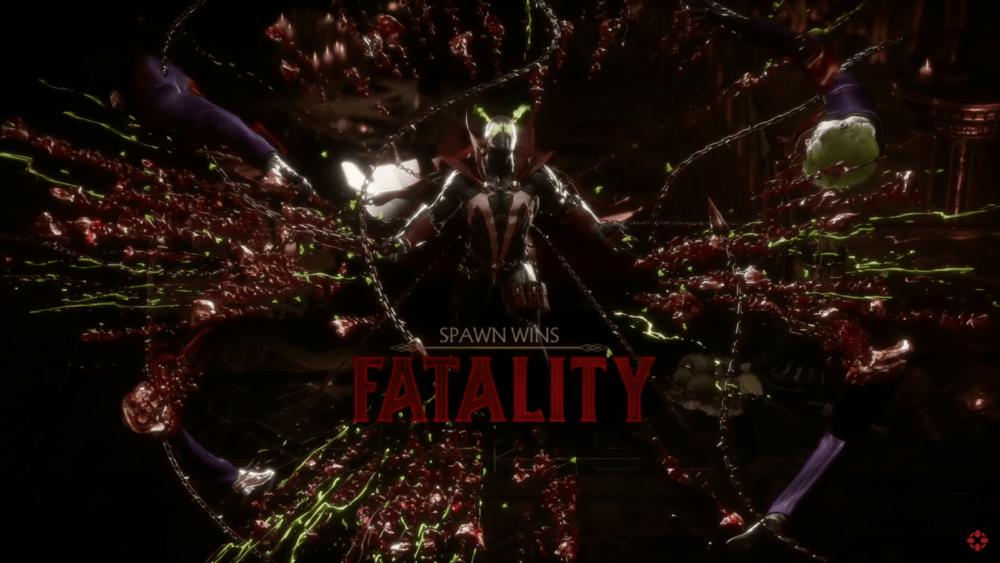 Фаталити, стойки, бруталити Спауна в Mortal Kombat 11
