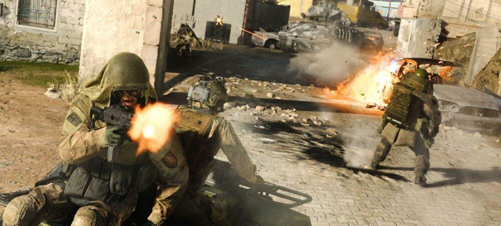 Геймплей королевской битвы в Call of Duty: Modern Warfare