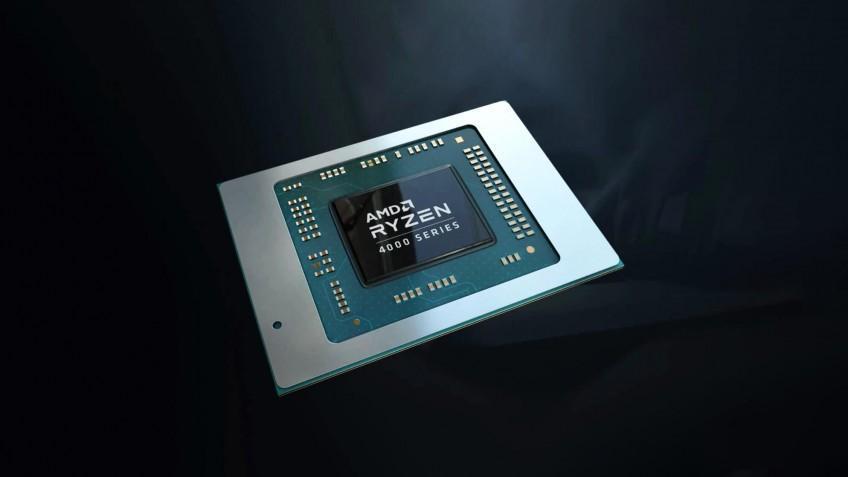 AMD показали мобильные процессоры Ryzen 4000