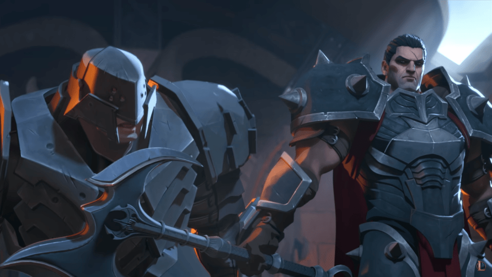 Дариуса в новом сюжетном ролике Legends of Runeterra