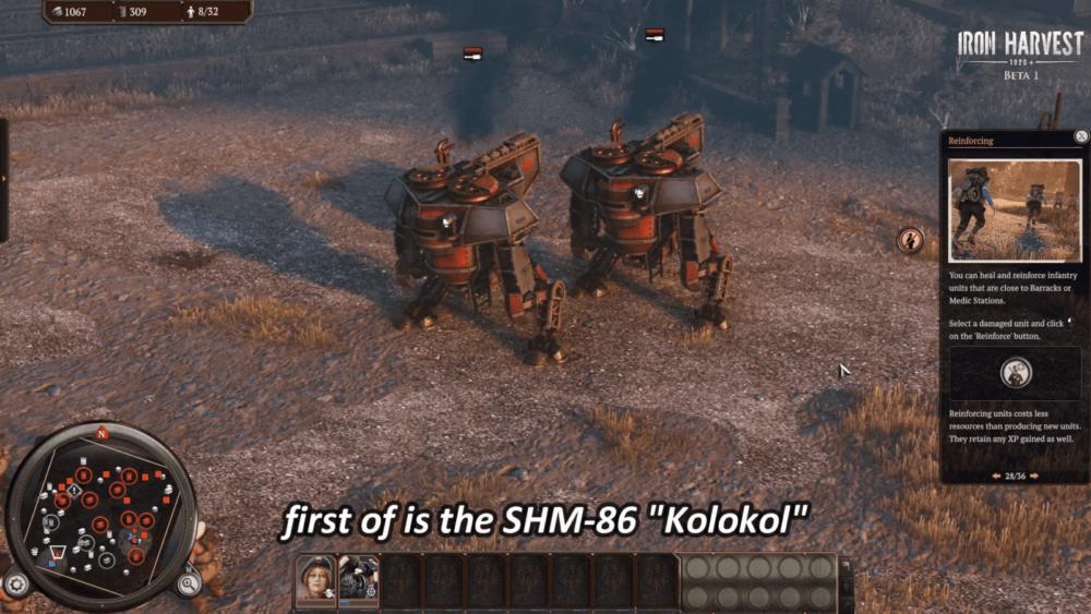 Свежий геймплей Iron Harvest с Русветом