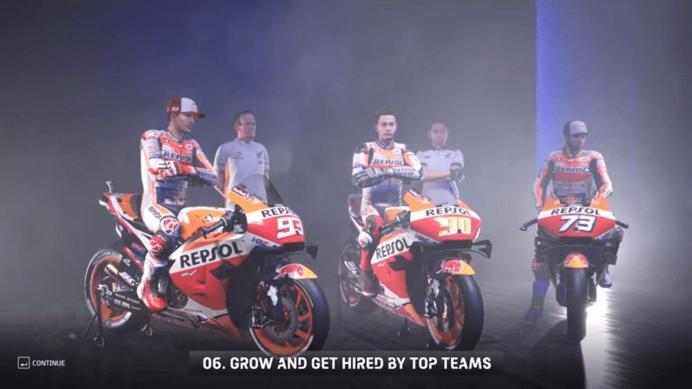 Видеодневник разработчико MotoGP 20