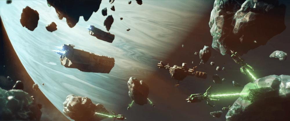 В космической стратегии Starborne началось ОБТ