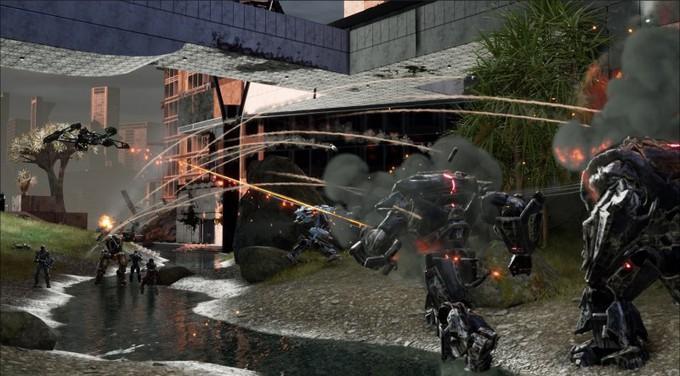 Скриншоты и геймплей Disintegration