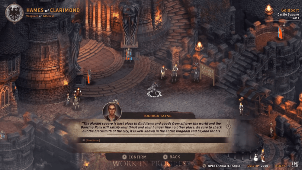 Геймплей Alaloth: Champions of the Four Kingdoms