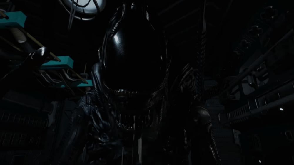 Геймплей фанатской игры про Чужого - Alien: Hope for the Future