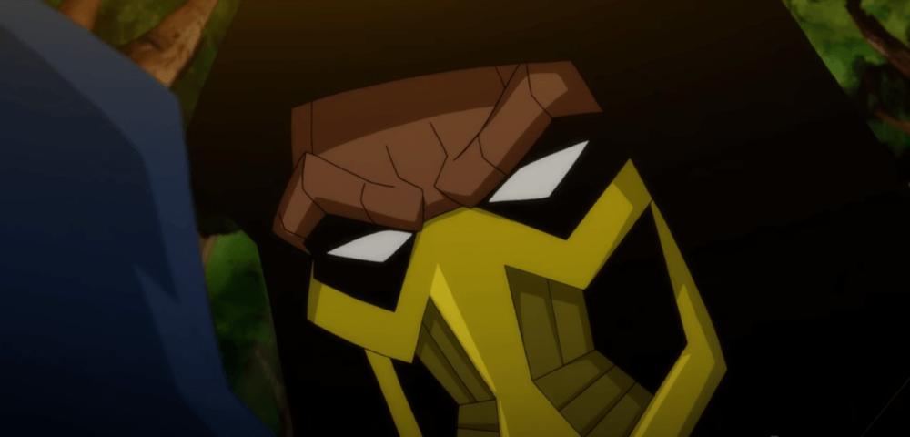 Еще один отрывок мультфильма по Mortal Kombat