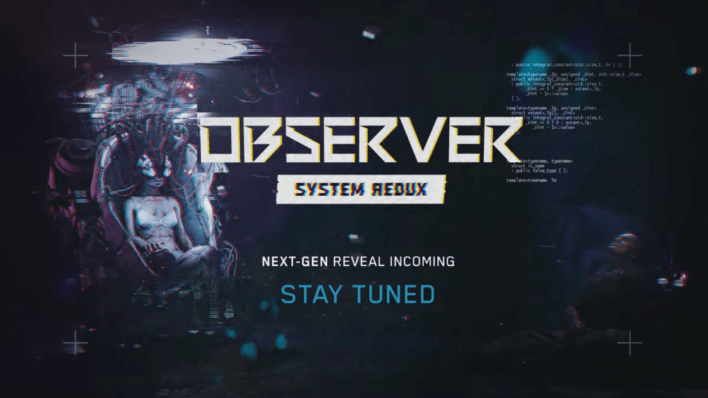 Свежий тизер Observer System Redux