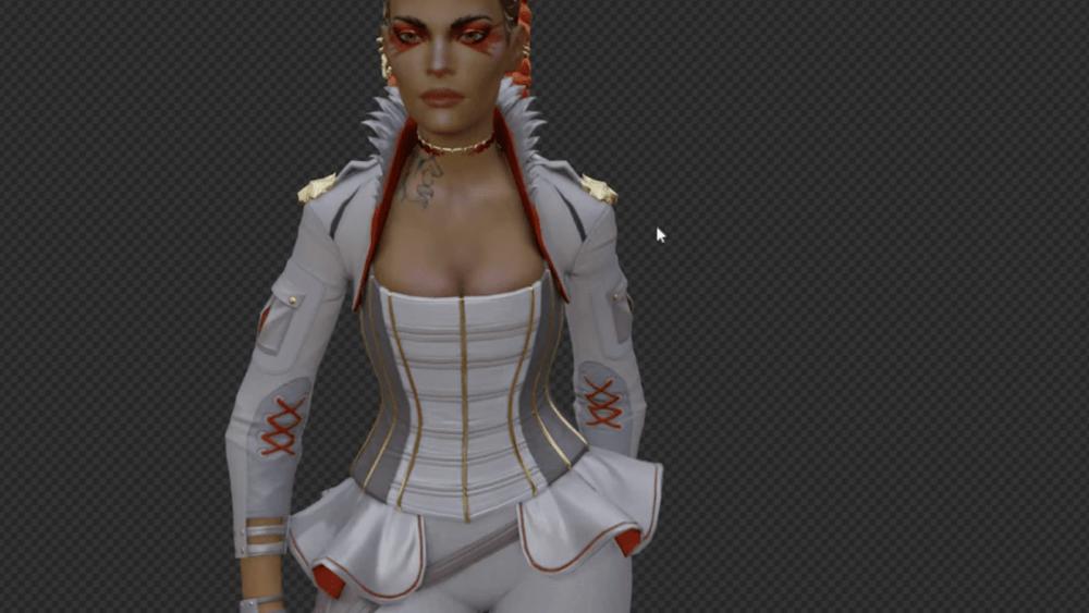 Слив модели нового персонажа Apex Legends