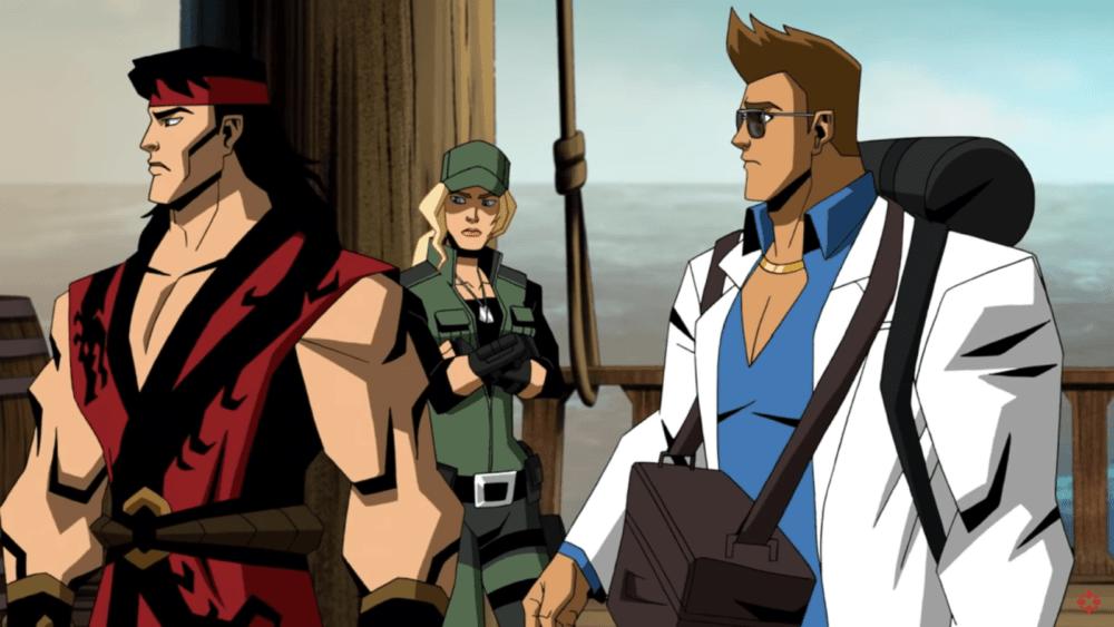 Джонни Кейдж в новом отрывке мультика по Mortal Kombat
