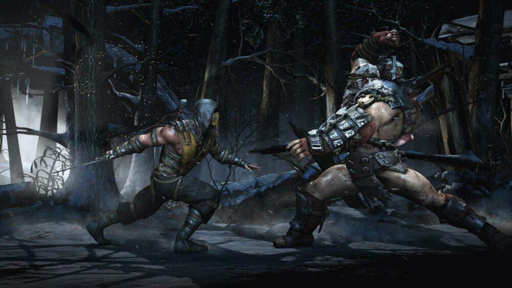 Первые рисунки Саб-Зиро для фильма Mortal Kombat