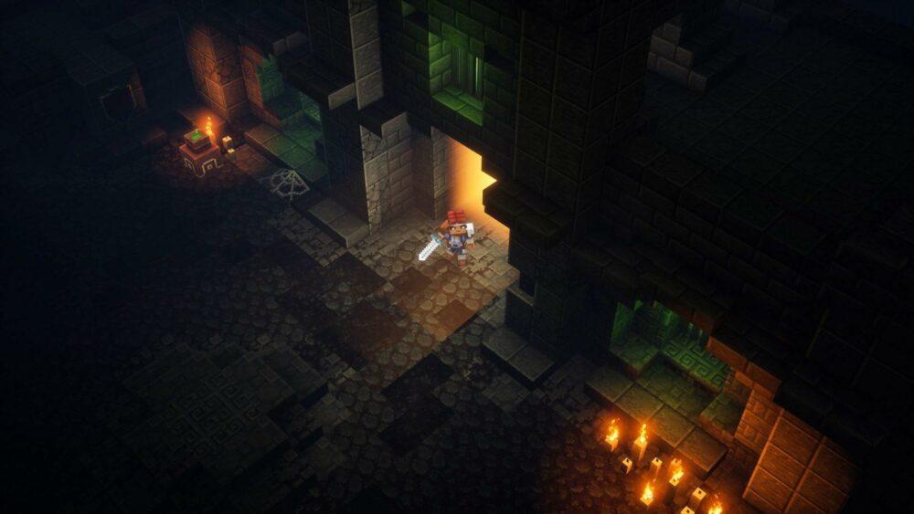 Новые подробности о  Minecraft: Dungeons