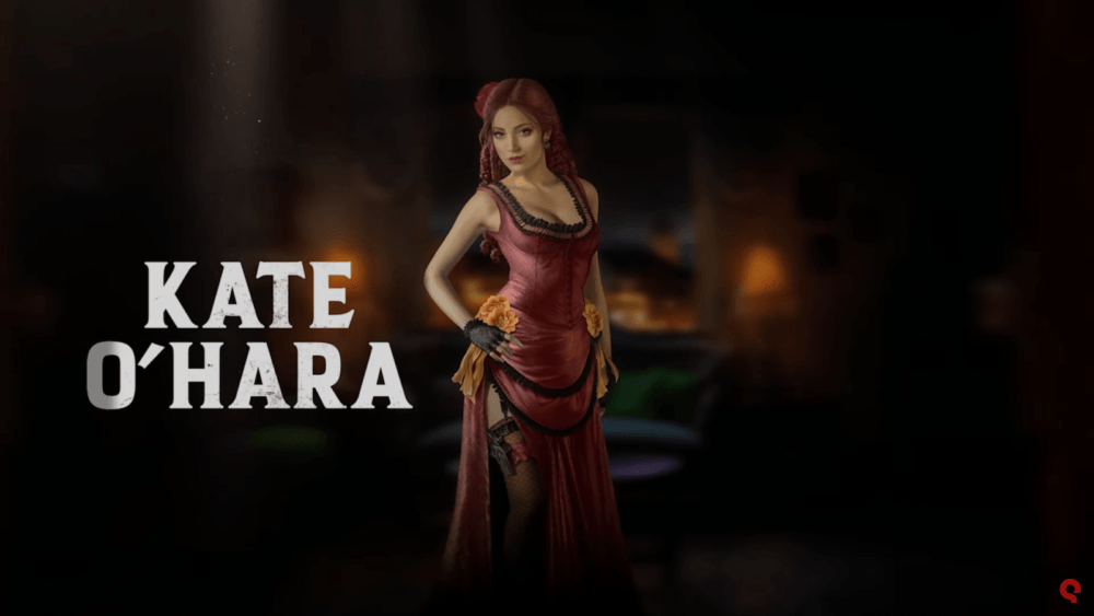 Кейт Охара в новом трейлере Desperados 3