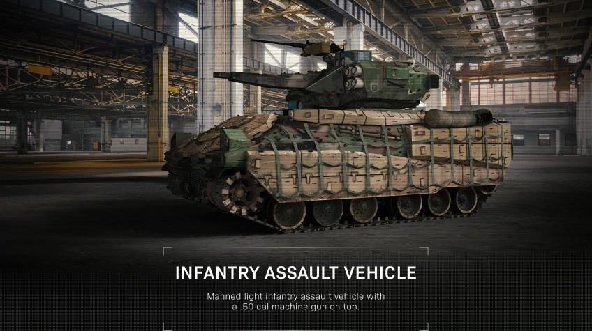Штурмовой транспорт Modern Warfare