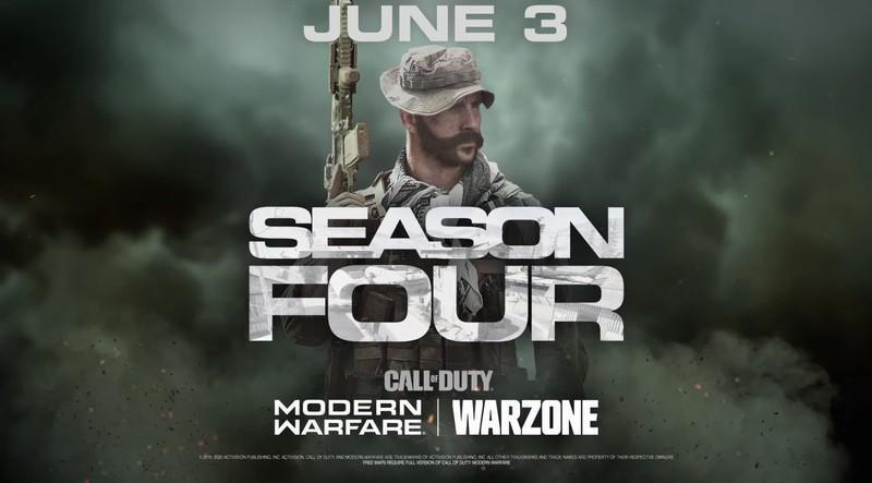 Трейлет и дата начала 4 сезона Call of Duty: Modern Warfare