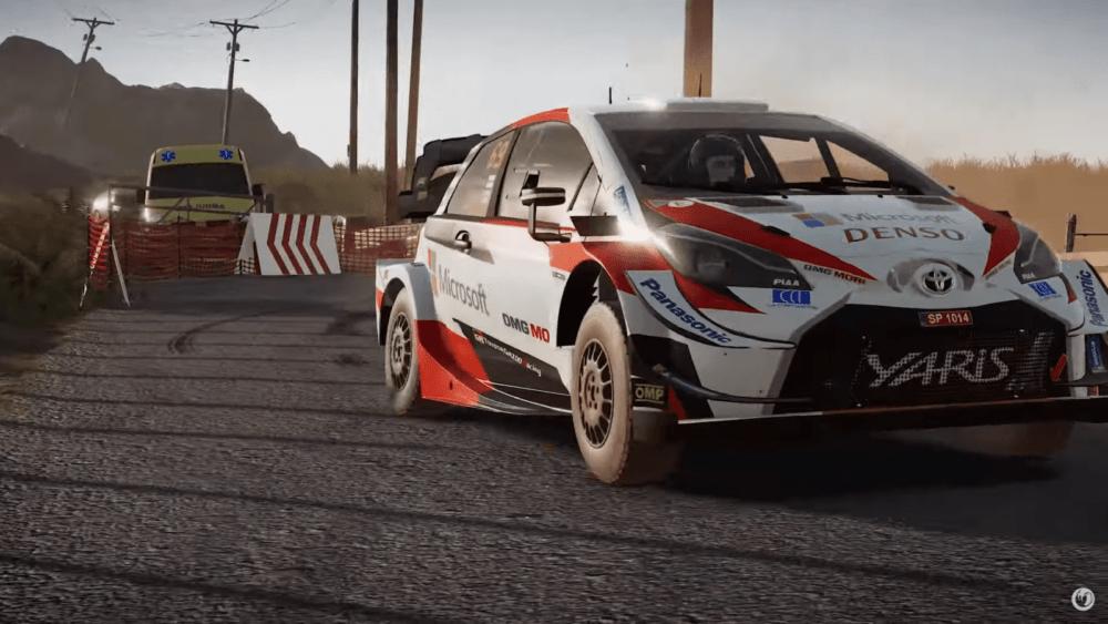 Первый геймплей WRC 9