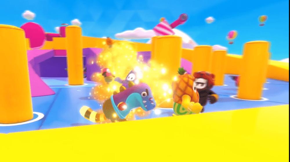 Трейлер Fall Guys - игра явно для веселья