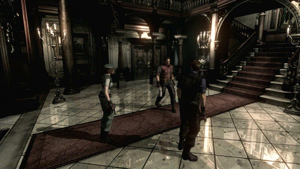 Геймплей ремейка Resident Evil от фанатов