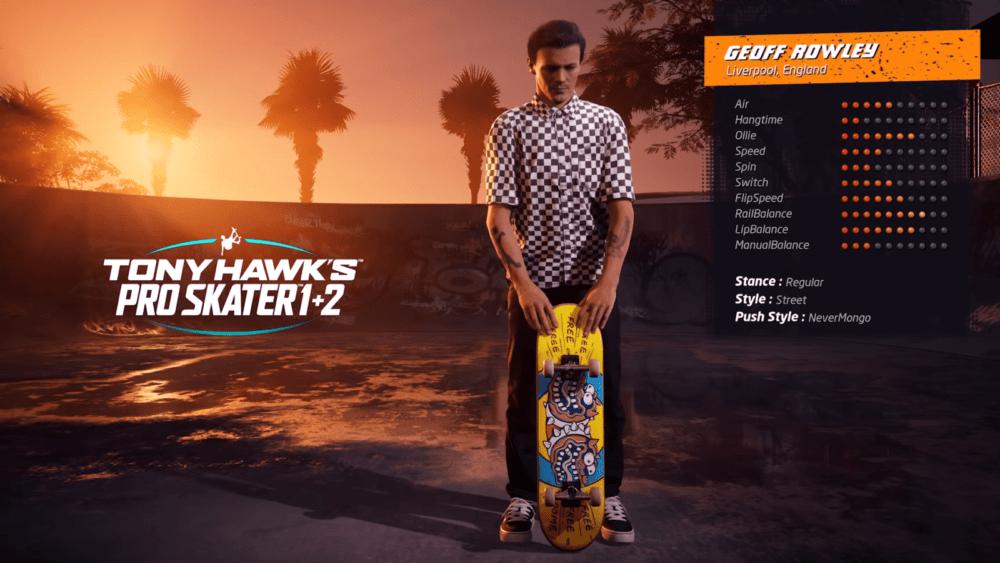 Геймплей ремейков Tony Hawk's Pro Skater