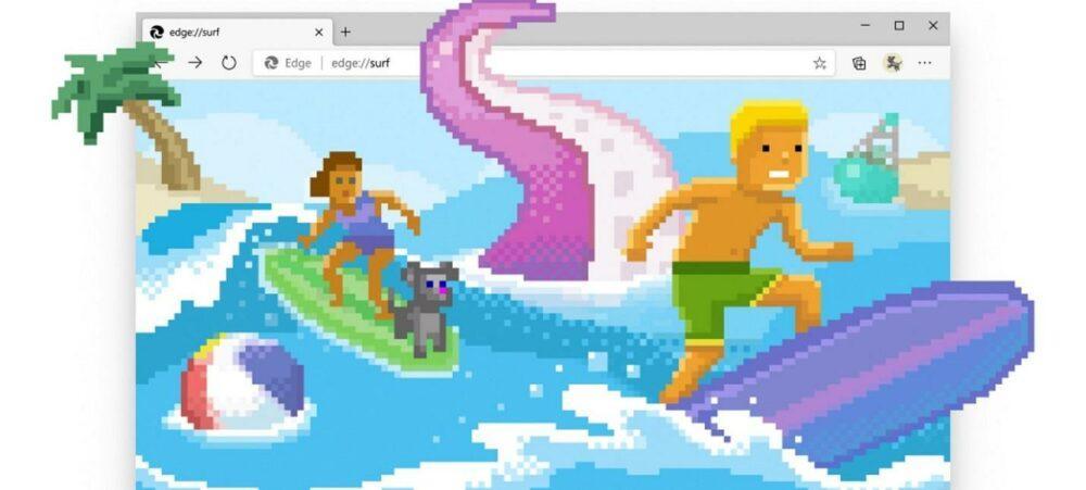 Microsoft Edge сделали свою мини-игру без интернета