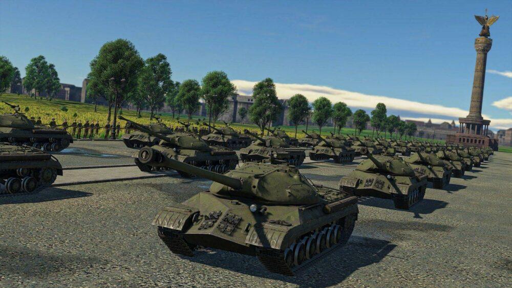 Парад Победы прошел в игре War Thunder