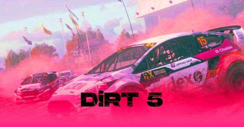 На Inside Xbox была представлена пятая часть DIRT