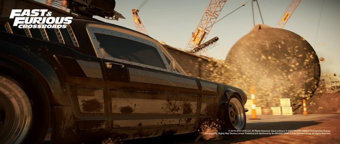 Геймплей и дата выхода Fast & Furious Crossroads