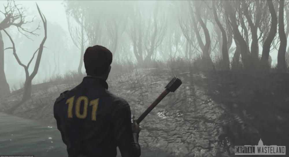 Новый трейлер ремейка Fallout 3 на движке Fallout 4