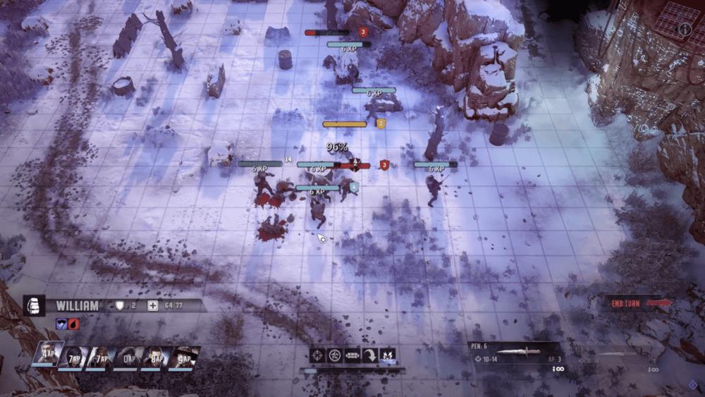 Почти часовой геймплей Wasteland 3