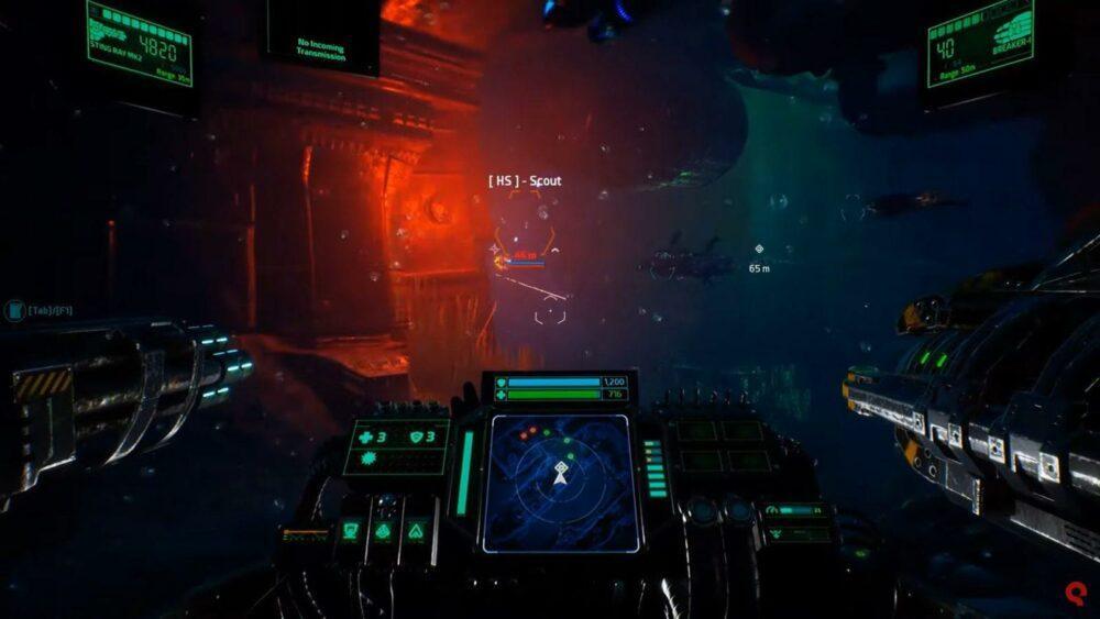 Геймплей Aquanox Deep Descent