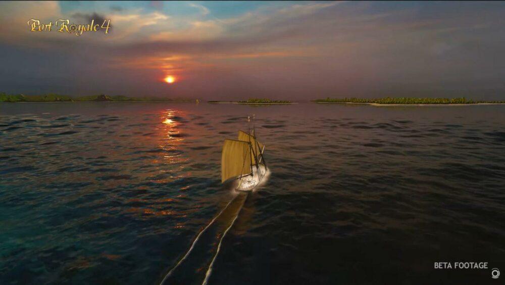 Получасовой геймплей Port Royale 4