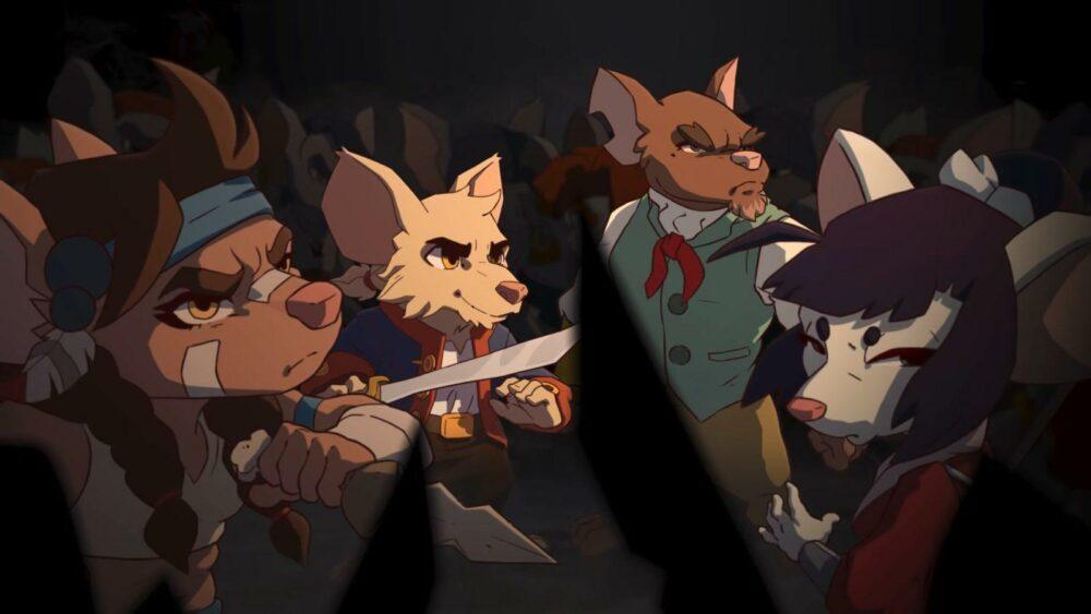 Трейлер Curse of the Sea Rats - нарисованной вручную