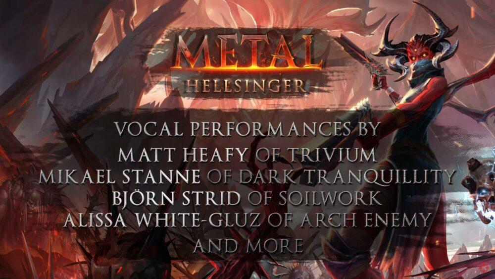 Анонс Metal: Hellsinger - ритмичного шутера