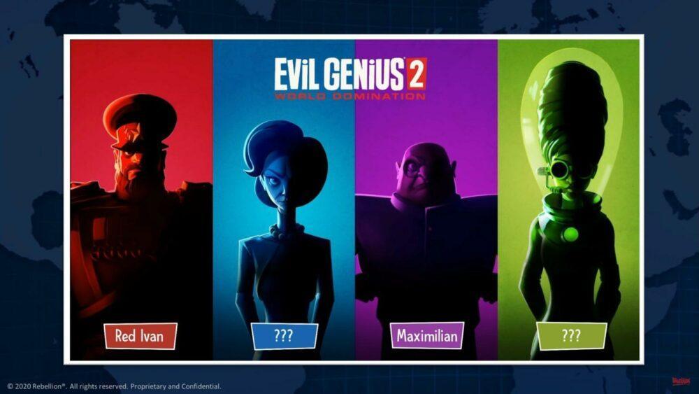 Стрим и новые детали Evil Genius 2: World Domination