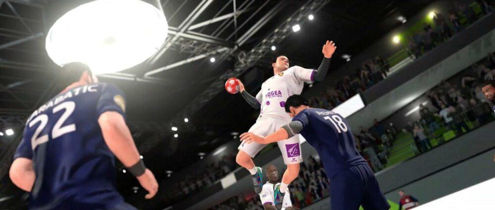 Анонс Handball 21 - симулятор гандбола