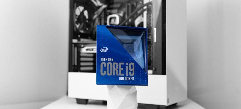 Опыт с тестом 30 процессоров Intel i9 10900К