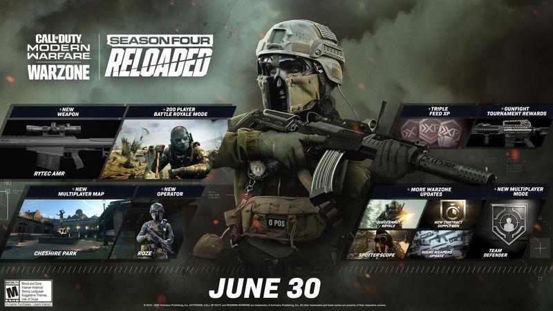 В Warzone появился режим на 200 игроков