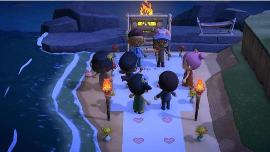 свадьба в Animal Crossing