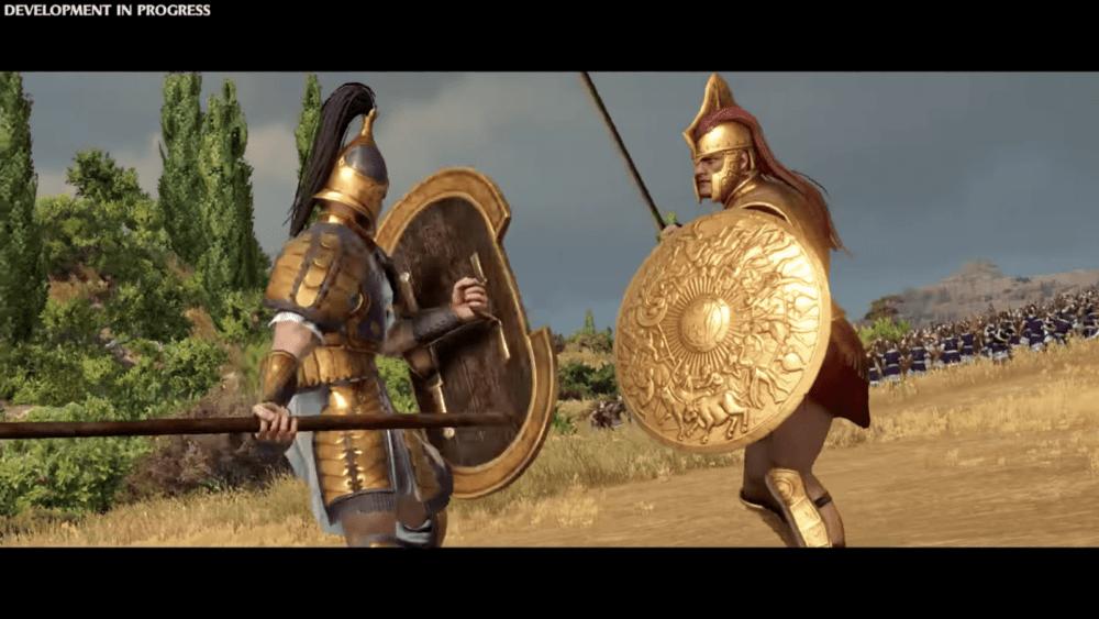 Новый геймплей Total War Saga: Troy