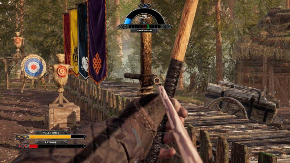 Дебютный трейлер Medieval Archery Simulator