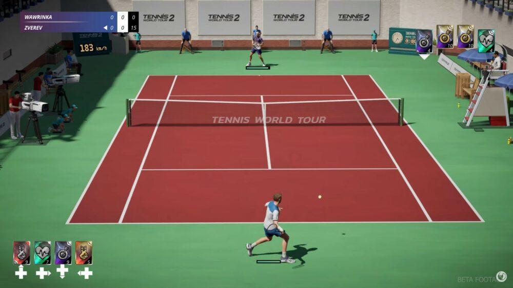 Первый геймплей Tennis World Tour 2