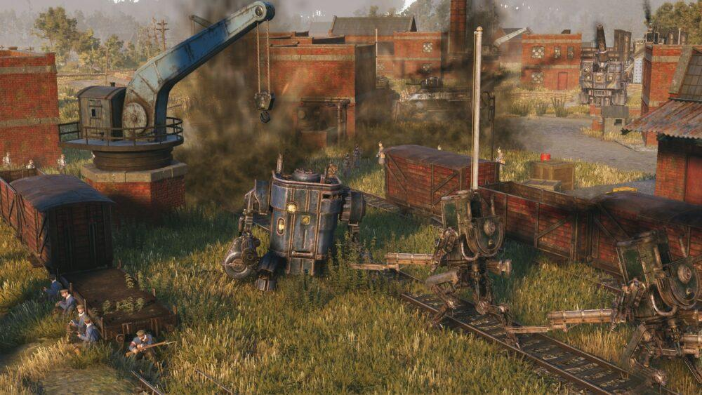 Новый трейлер Iron Harvest
