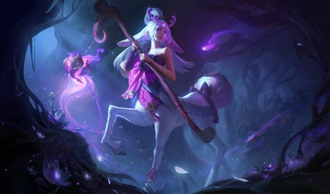 Трейлер Праздника цветения в League of Legends