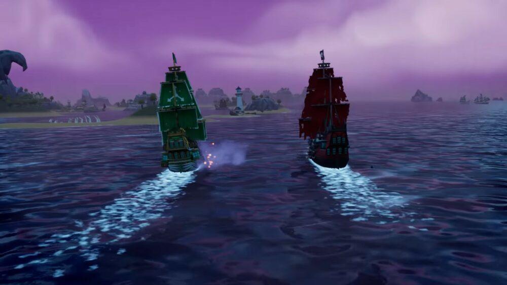 Первый геймплей King of Seas