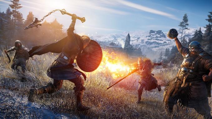 Геймплей, скриншоты и дата выхода Assassin's Creed Valhalla