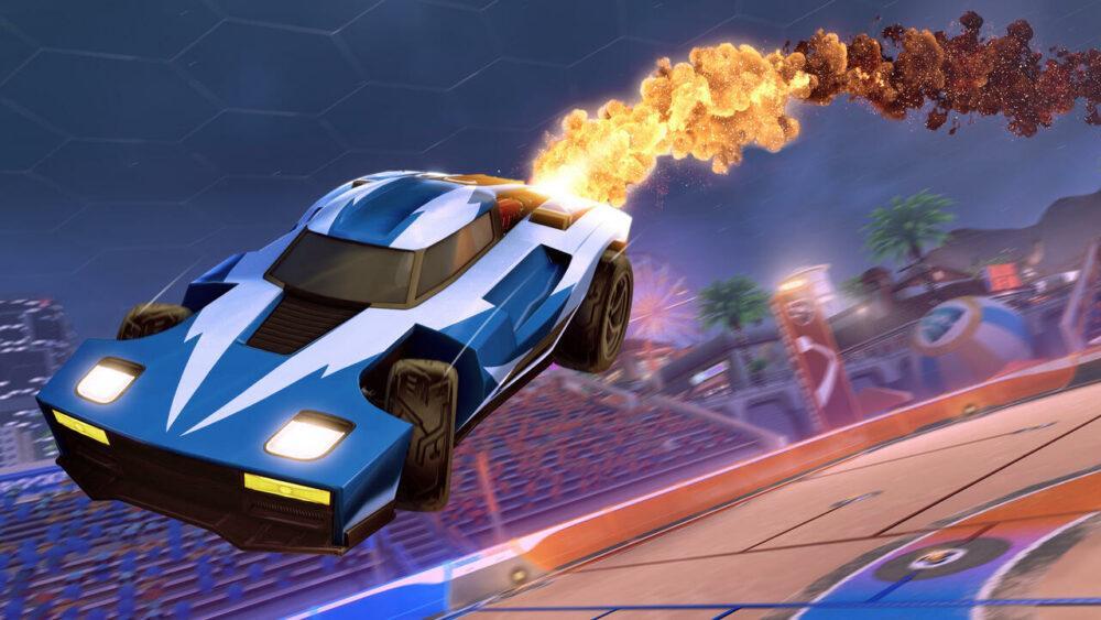 Rocket League бесплатна до конца лета в EGS