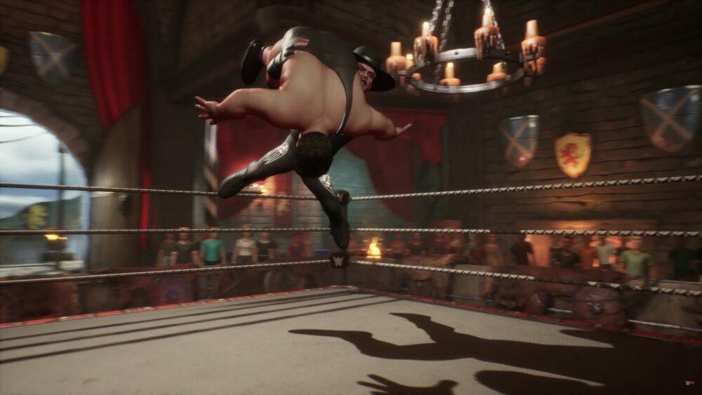 Новый трейлер и дата выхода WWE 2K Battlegrounds